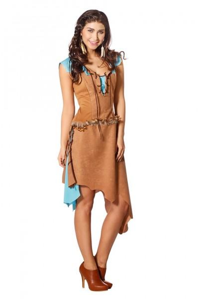 Fesches Apachenkostüm für Damen