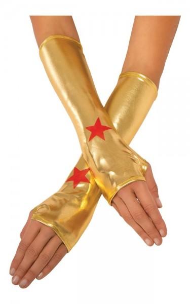 Goldene Wonder Woman Armstulpen