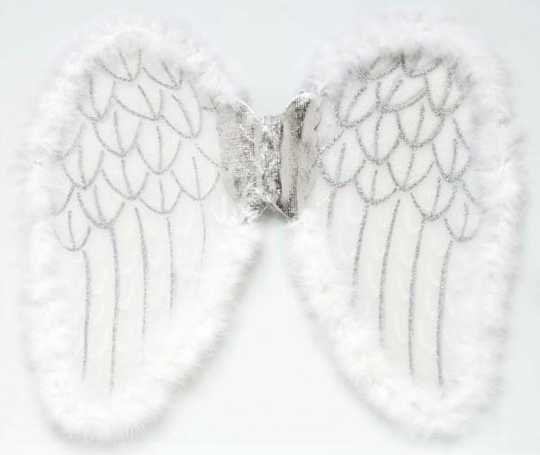 Alas de ángel brillantes 50x40cm