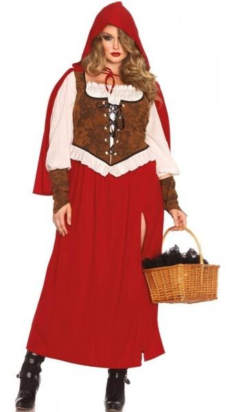 Rotes Wald Käppchen Damenkostüm