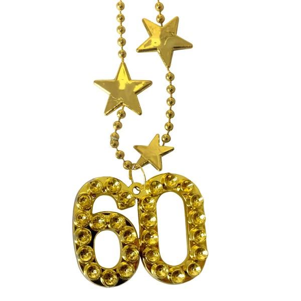 Halskette Big Stars Zahl 60