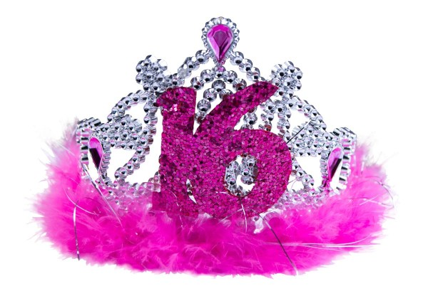 Blingbling Sweet 16 crown