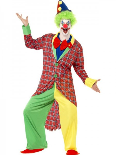 Zirkus Clown Augustin Herrenkostüm 1