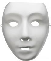 Ausdruckslose Weiße Maske