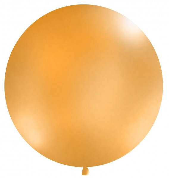 XXL Ballon Partygigant orange 1m