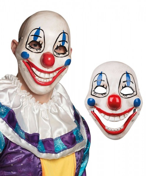 Masque de clown ours souriant