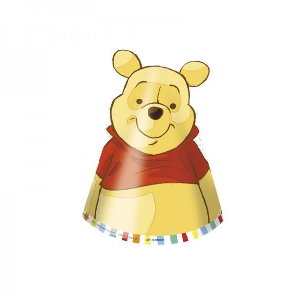 6 Winnie the Pooh Sweet Friends Leuke feesthoeden