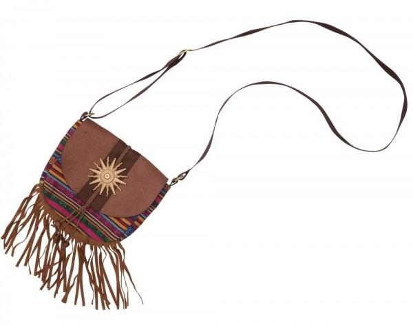 fdedaeba73de8 Indianer Fransen Handtasche Sunshine 1