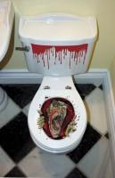 Zombie Town WC Sticker 60,9 x 30,4cm