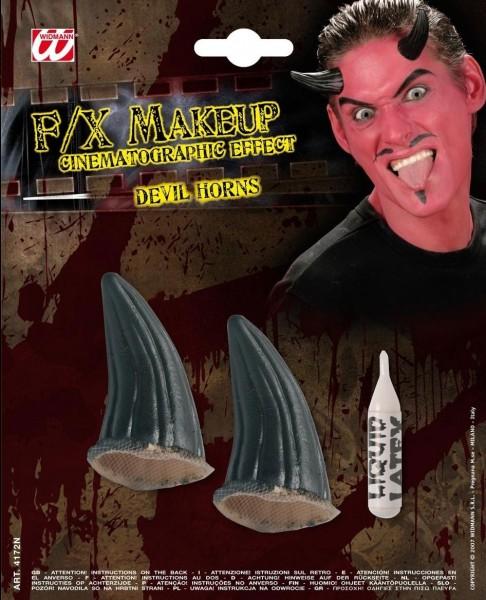 FX Special Make-Up Teufelsbrut Hörner