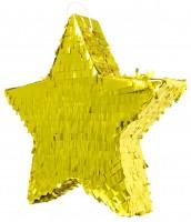 Pinata goldener Stern 45cm