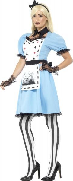 Crazy Alice Premium Damenkostüm