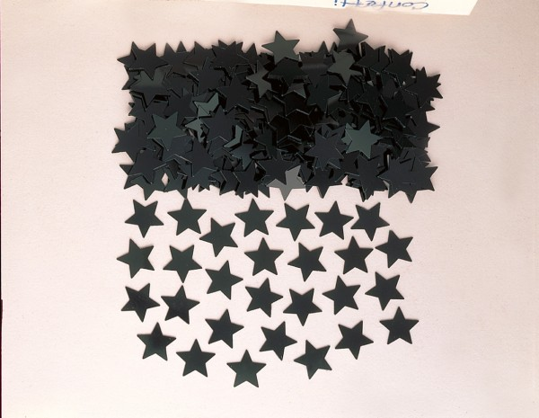 Star sprinkle decoration Stella black 14g