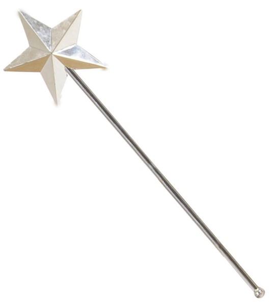 Varita de hada brillante con estrella