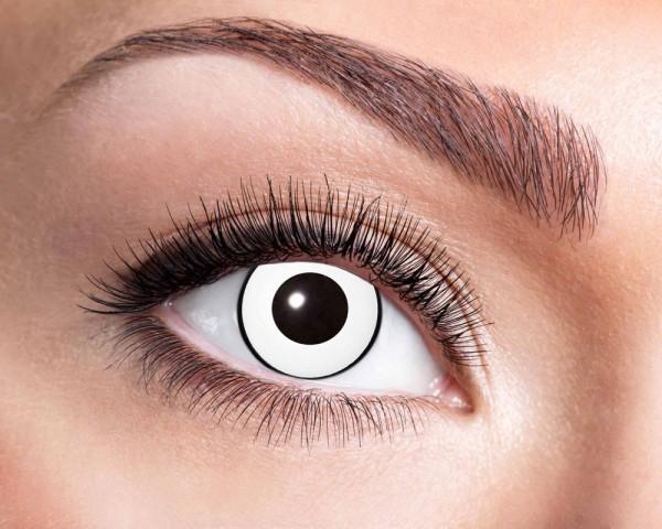 White Gothic 3-Monats Kontaktlinsen