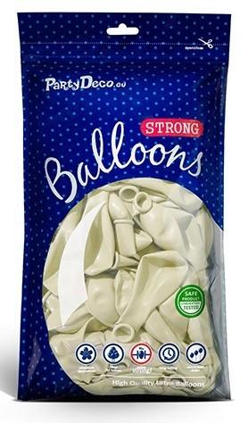 100 Transparente Partystar Ballons 12cm