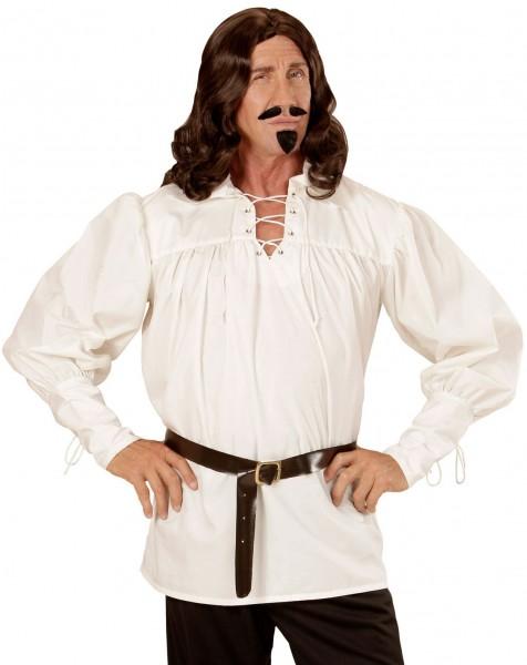 Camicia da uomo di mezza età vecchio stile