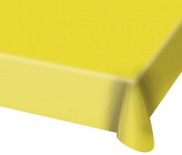 Nappe Cleo jaune 1.37 x 1.82m