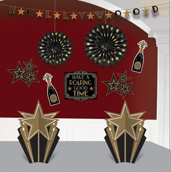 Glamor room decoration set 10 pieces