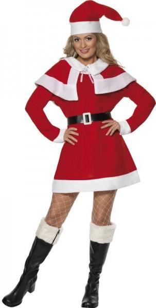 Santa Lady Weihnachts Damenkostüm
