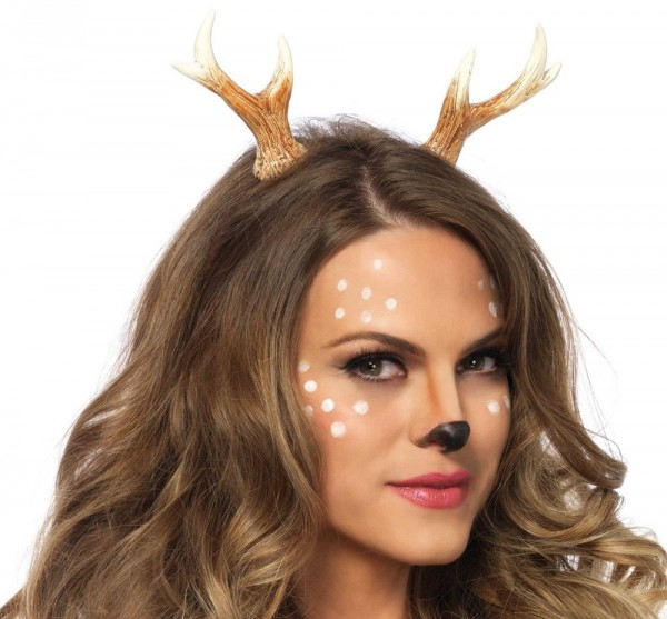 Haarreif Mit Rehgeweih Bambi