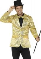Pailletten Jackett In Gold