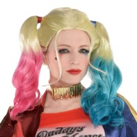 Perruque de licence Harley Quinn