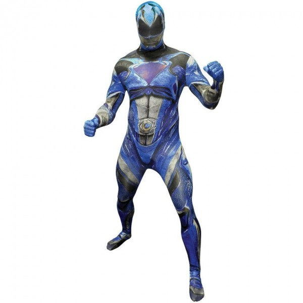 Morphsuit bleu Power Ranger Deluxe