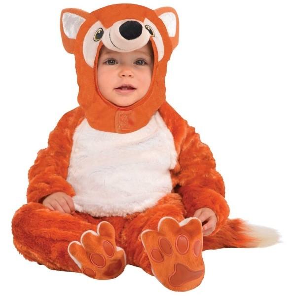 Schattig vos baby kostuum