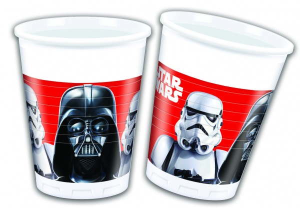 8 vasos Star Wars Final Battle 200ml