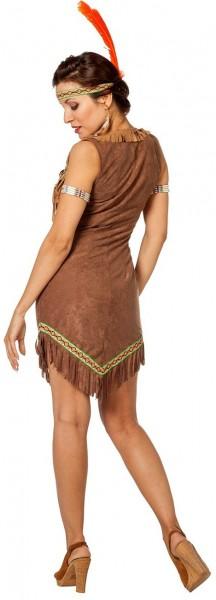 Indianerin Yvonne Damenkostüm