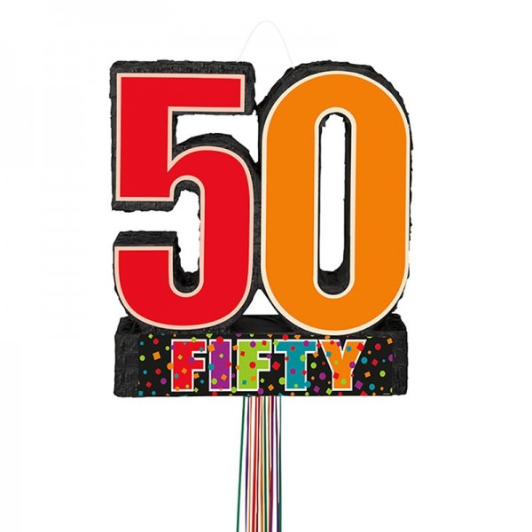 Happy 50th Birthday Pinata Cheers 1