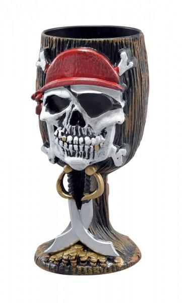 Gobelet de pirate Roger Skull