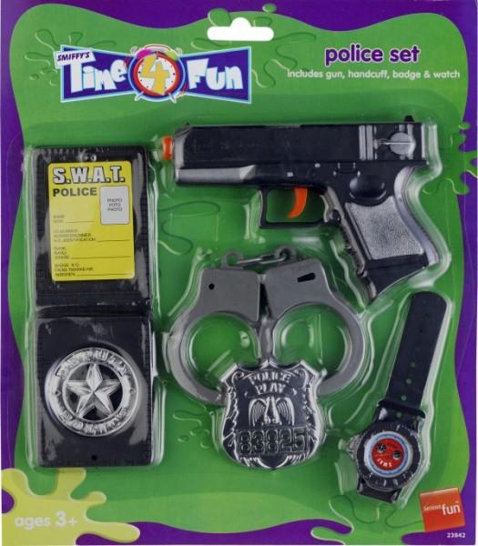 Polizei Set Für Kinder 5-teilig