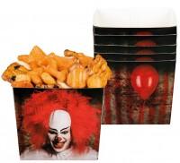 6 Horrorclown Snack Boxen 400ml