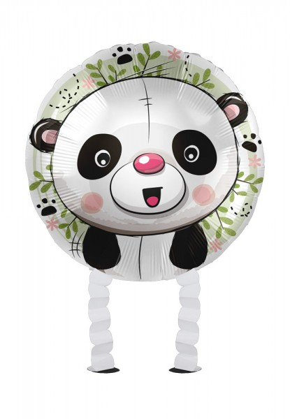 Kleiner Panda Airwalker Folienballon 43cm