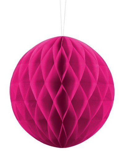 Honeycomb ball Lumina magenta 20cm