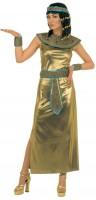 Déguisement Cléopâtre doré d'Egypte