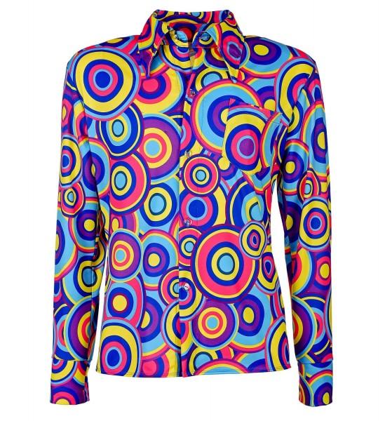 Wildes 70er Jahre Hemd für Herren