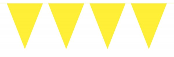 Small pennant chain yellow 3m