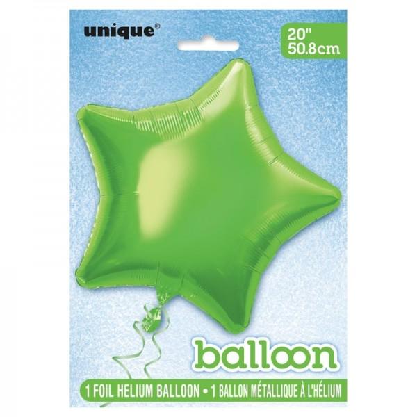 Palloncino foil Stella verde ascendente
