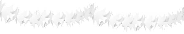 Pendeltauben Girlande weiß 6m