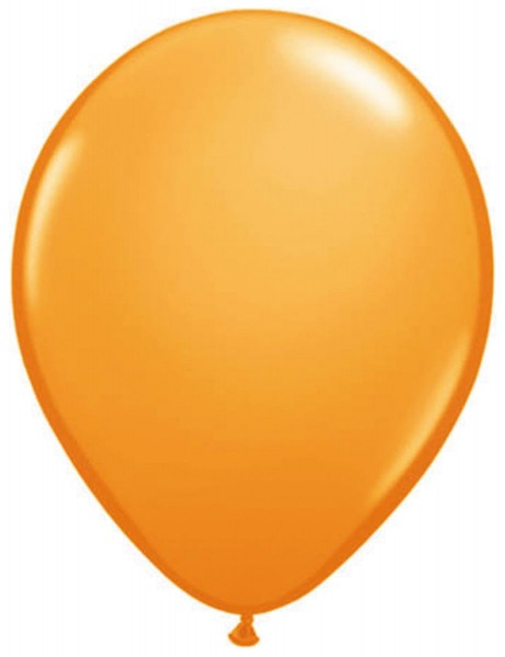 10 Orange Balloons 30cm