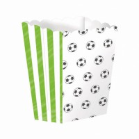 4 Popcorn Snack Boxen Kicker-Party