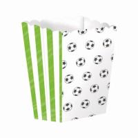 4 Fußball Kicker Party Snack Boxen