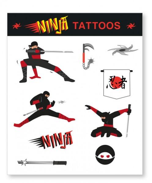 Ninja Pary Tattoo Bow