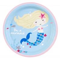 8 Pappteller Sei eine Meerjungfrau 23cm