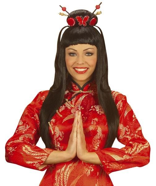 Chinesische Asia Damen Perücke