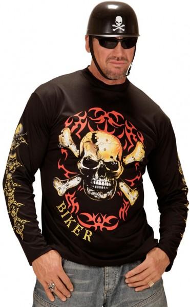 Disfraz de motociclista Hell Rider