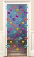 50th Celebration Tür Vorhang 200cm